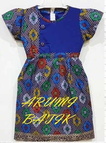 harga Dress / Dres / Terusan / Baju Batik Anak Perempuan 1924 Tokopedia.com