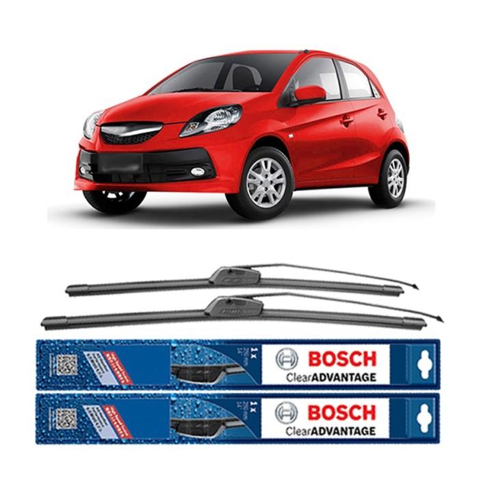 harga Bosch sepasang wiper mobil honda brio frameless new clear 22  & 14 Tokopedia.com