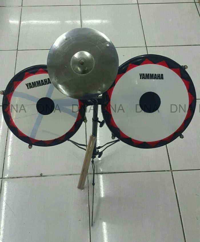 harga Tam tam yammaha (2) / drum mini yammaha (2) + bonus stik drum Tokopedia.com