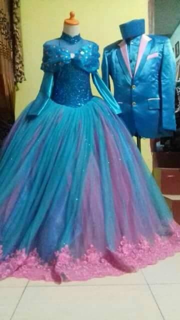harga Gaun frozen by request customer / gaun pengantin wanita Tokopedia.com