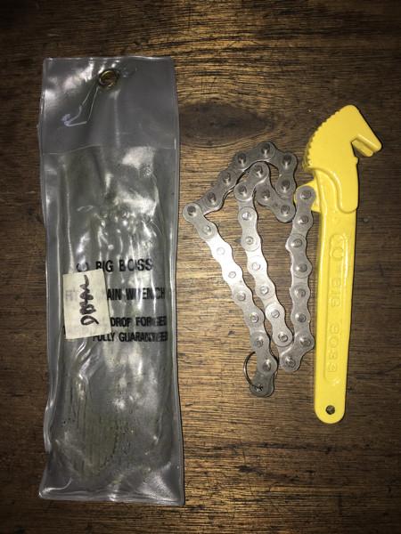 harga Kunci oli filter sabuk / oil filter wrench with chain big boss Tokopedia.com