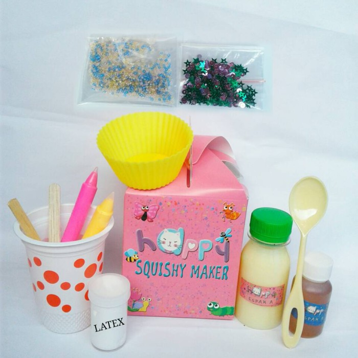 Foto Produk Happy Squishy Maker Set - Squishy Kit - Espak - DIY Kit dari Chokobi