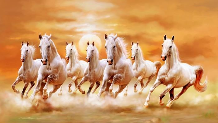 harga Repro digital lukisan horse kuda hoki feng shui Tokopedia.com