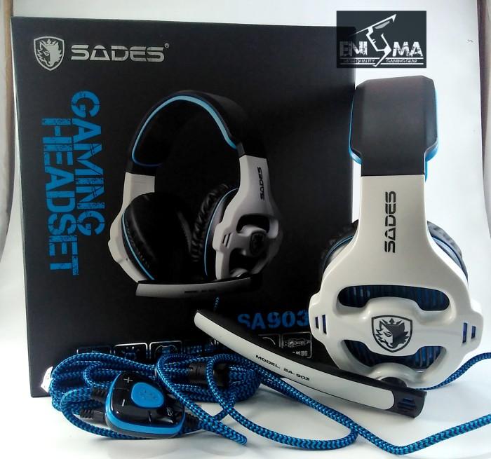 Headset Gaming Sades SA 903 .