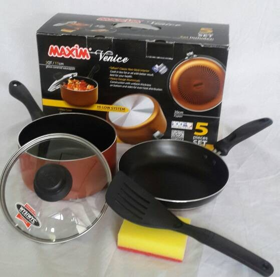 Maxim venice alat masak 5 set