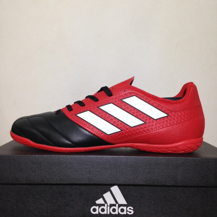 Jual Sepatu Futsal Adidas Ace 17.4 IN Red Core Black BB1766 Original ... 181c3632e