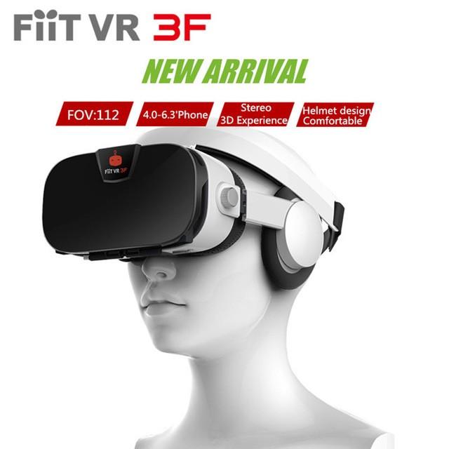 Foto Produk FIIT VR 3F VIRTUAL REALITY GLASSES 3D HEADPHONES BUILD IN HEADSET dari Hiu Store