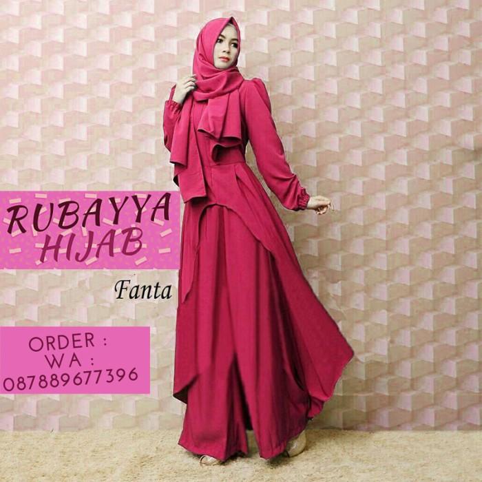Jual Gamis Pesta Baju Muslim Ibu Menyusui Busui Lebaran Warna