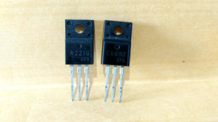 harga Transistor a2210 dan c6082 Tokopedia.com