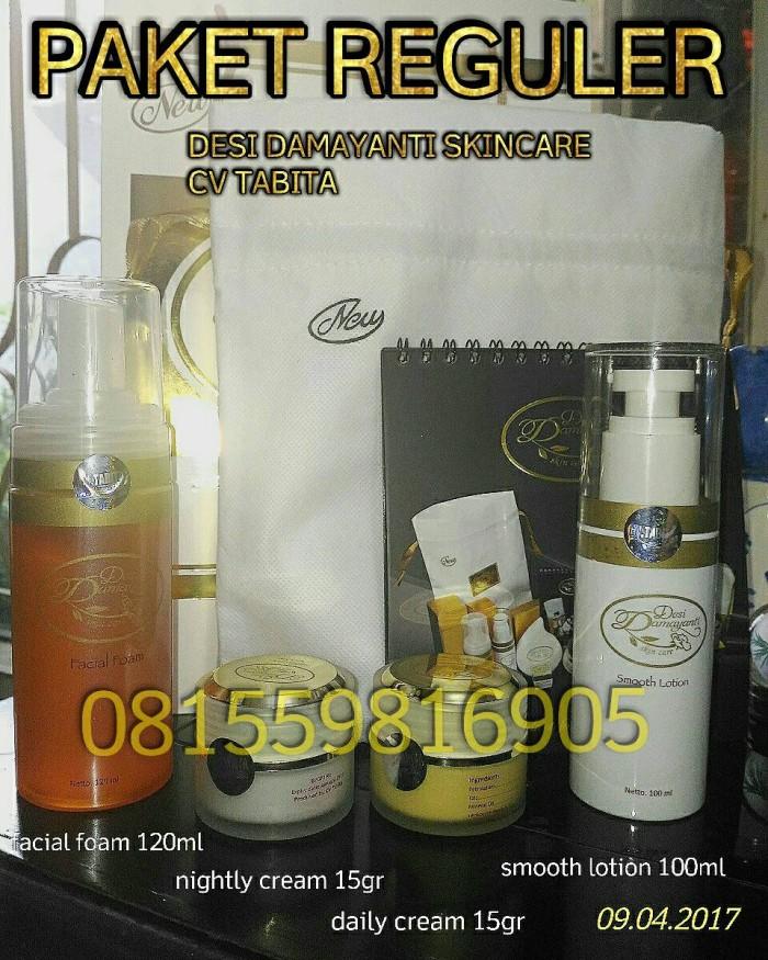 Tabita skincare / dds reguler / desi damayanti skincare cv tabita - Paket Reguler