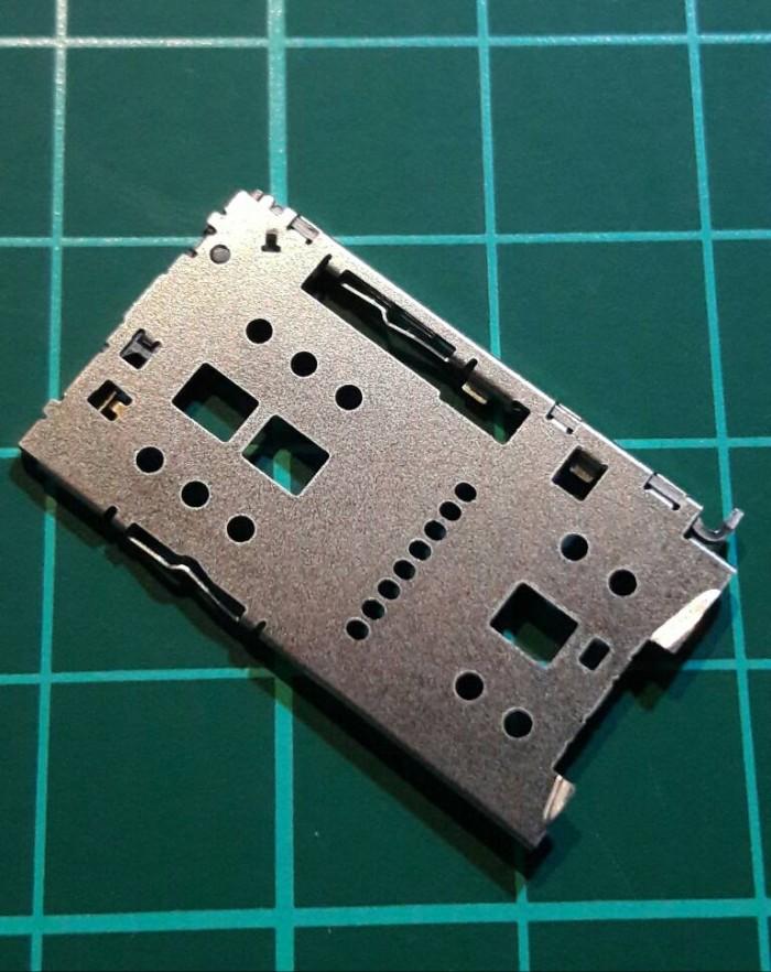 harga Meizu m2 note metal note2 rumah sim card socket card mmc holder reader Tokopedia.com