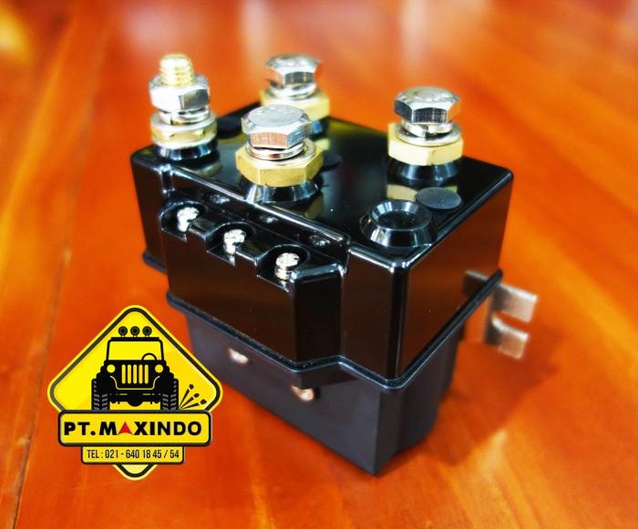 harga Runva integrated solenoid 12 volt 600a untuk winch runva tipe ewx-q Tokopedia.com