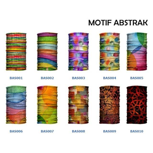 harga Masker buff bandana abstrak batik etnik nusantara kain multifungsi baf Tokopedia.com