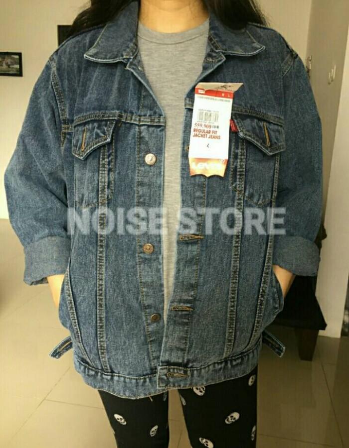 harga Jaket jeans levis sanwash oversize premium quality Tokopedia.com