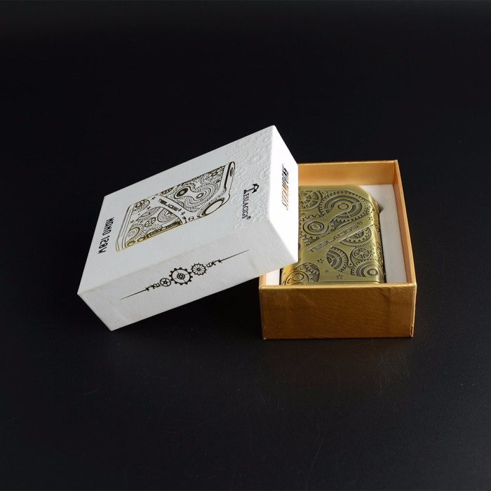 Authentic Tesla Steampunk Nano 120W Box Mod Only Vape Rokok Elektrik