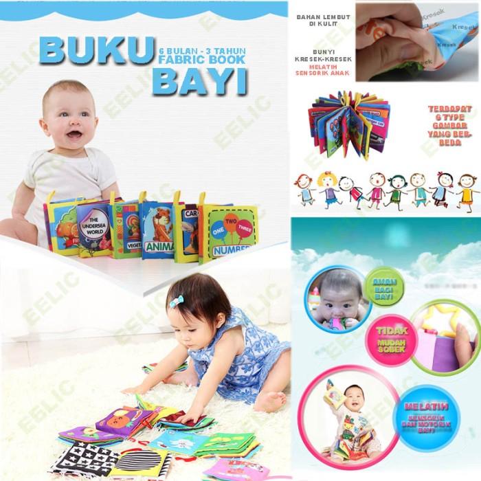 EELIC AYI-BU04 THE UNDERSEA WORLD Baby Book Kain buku