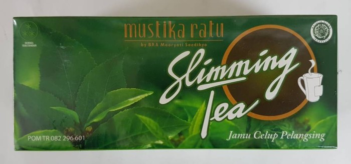 harga Slimming tea mustika ratu Tokopedia.com