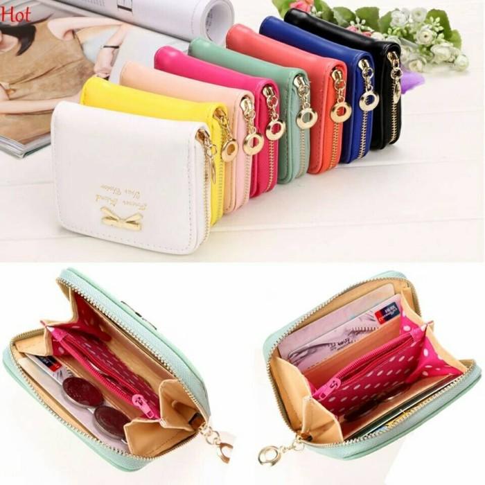 Dompet wanita dompet kecil dompet murah dompet import MINI RIBBON
