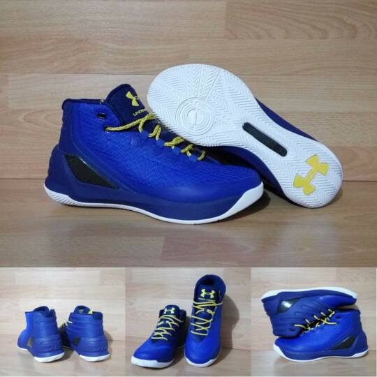 Jual sepatu basket under armour curry 3 high dubnation heritage blue ... f2bec6aa4b