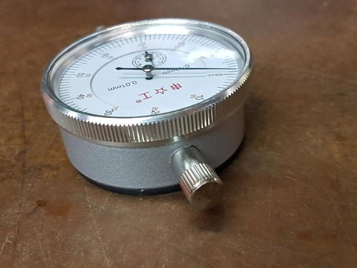 0-10mm Gauge Dial Indicator 0.01mm Graduation Travel Lug Back High Precision