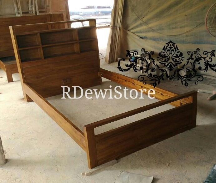 harga Tempat tidur, divan, dipan, ranjang, minimalis kayu jati Tokopedia.com