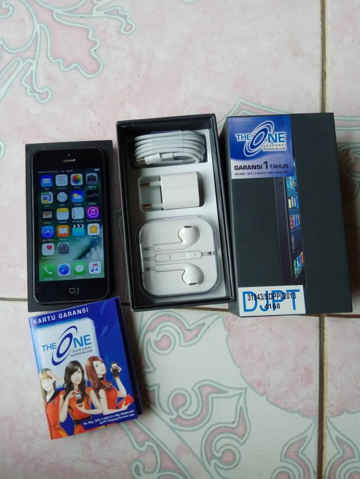 Jual Apple iPhone 5 - 32 GB Second (Space Grey) - Ga Kepake Lagi ... d992deda86