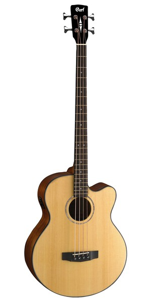harga Cort ab 850 f acoustic bass guitar - natural Tokopedia.com