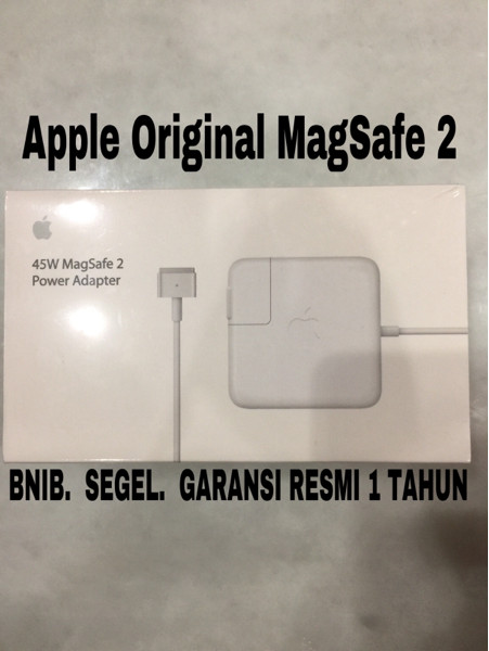 Foto Produk Apple 45W MagSafe 2 Power Adapter for MacBook Air ORIGINAL dari AppShoppe