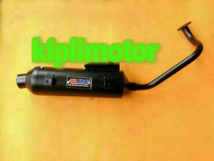 harga Knalpot racing bobokan model standar untuk yamaha mio soul lama hitam Tokopedia.com