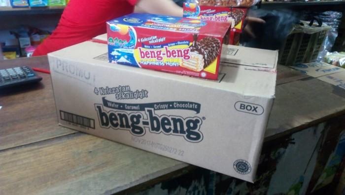 harga Beng-beng wafer 1 dus isi 8 box bengbeng chocolate beng beng cokelat Tokopedia.com