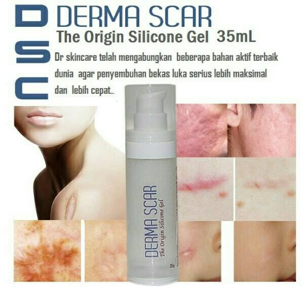 harga Dsc derma scar silicon gel keloid - obat penghilang bekas luka premium Tokopedia.com