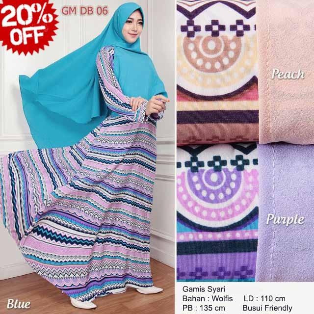Jual Spesial Busana Muslim Wanita Baju Gamis Jersey Super Gamis Jersey Kota Surabaya Tiarabiz Tokopedia