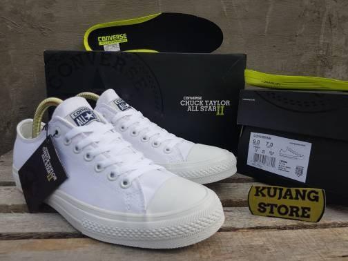 harga Sepatu converse all star ctii low white premium quality bnib Tokopedia.com