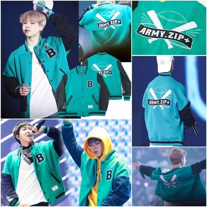 Jual BTS 3RD MUSTER ARMY ZIP VARSITY jaket baseball wings tour kpop korea -  Kab  Sukabumi - Beauteen SHOP   Tokopedia