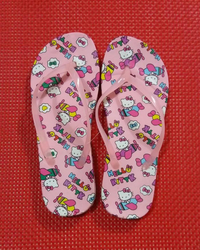 harga Sandal sendal jepit dewasa karakter hello kitty Tokopedia.com