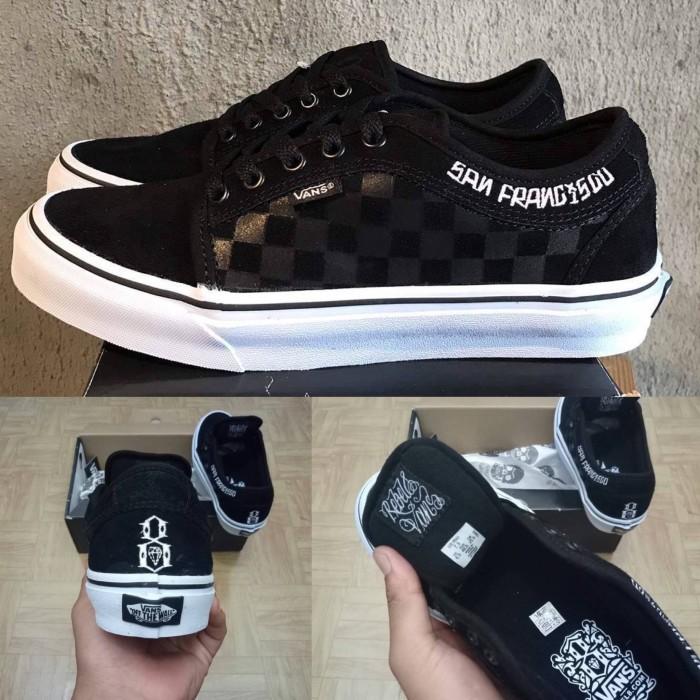 c2dba579b3 Jual Sepatu Vans Chukka Low x Rebel8