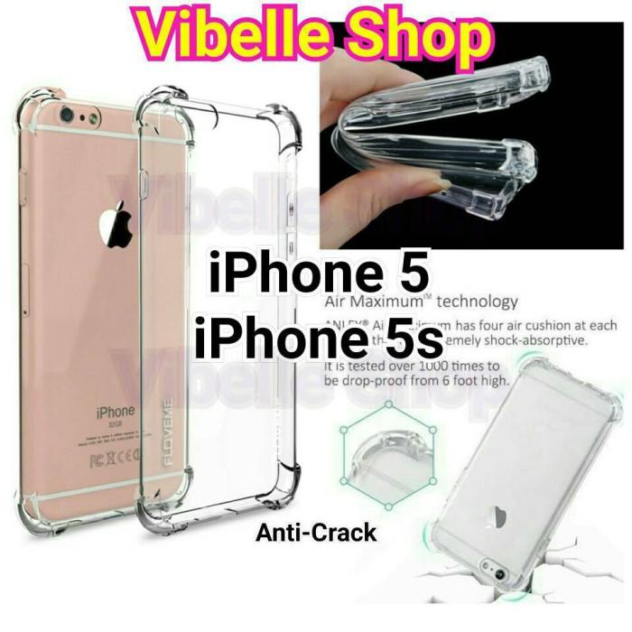 Softcase AntiCrack iPhone 5 5s Anti Crack Anti Shock Case iPhone 5 5s