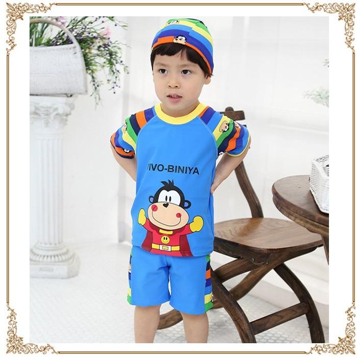 Baju Renang Anak Laki | Baju renang setelan atasan dan celana renang