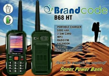 harga Brandcode b68 hp + ht / powerbank 10.000mah - garansi resmi 1 tahun Tokopedia.com