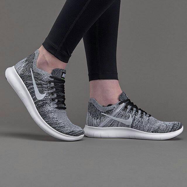 faedb15fb1d Jual Nike Womens Free RN Flyknit 2017 - Oreo - Futsal Boots/Boots Dept |  Tokopedia