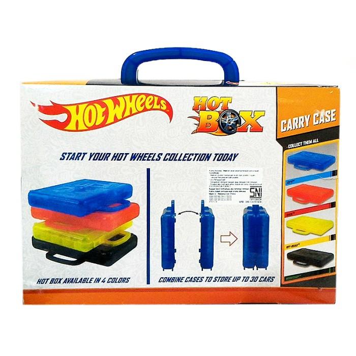 Hot Wheels Twin Pack Carry Case (Isi 2 box hot wheels + 3pcs Hotwheels