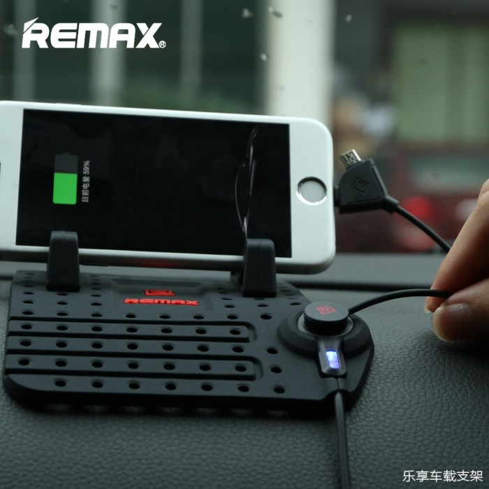 harga Remax super flexible car holder with micro usb lightning charger hp Tokopedia.com