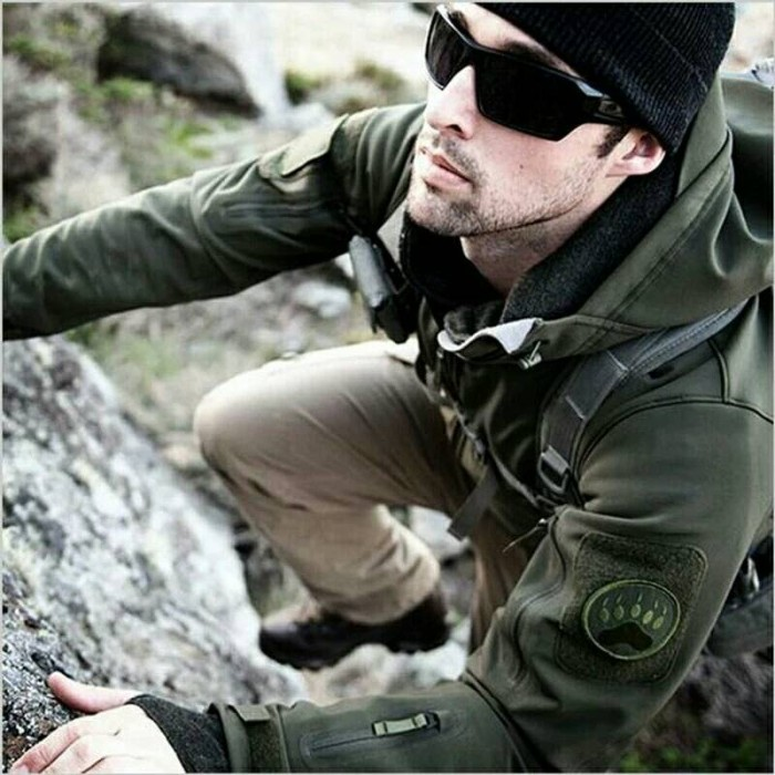 Jaket tactical tad gear made in usa label