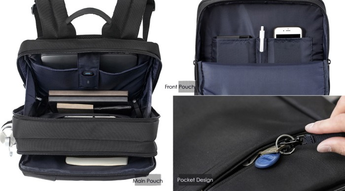Xiaomi Bag Original Classic Business Backpack Tas Xiaomi Laptop Ransel .