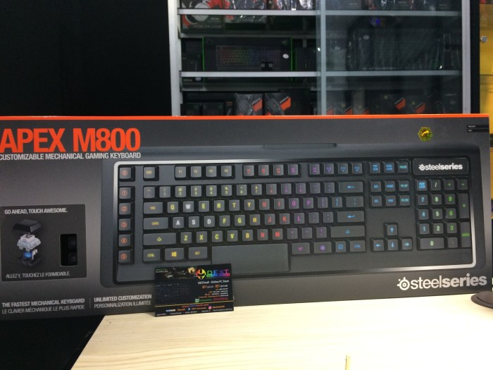 Steelseries apex m800 mech qs1