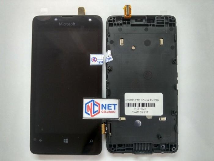 harga Lcd nokia lumia 430 / 435 / n430 / n435 / rm1099 rm 1099 + touchscreen Tokopedia.com