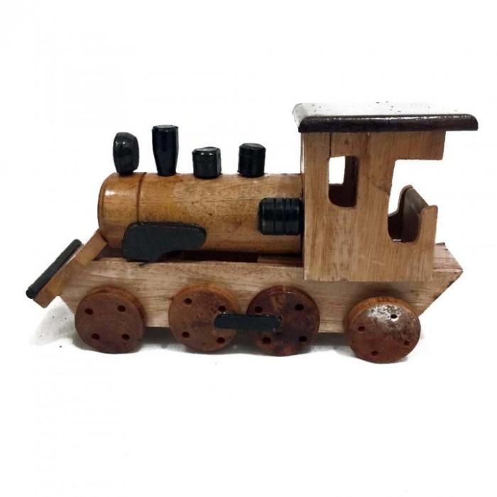 harga Original indonesian handmade woodcraft - miniatur kayu kereta api loko Tokopedia.com