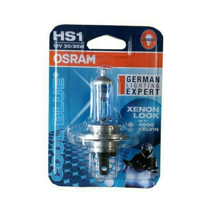 harga Bohlam lampu depan halogen osram hs1/h4 12v 35/35w motor vixion Tokopedia.com