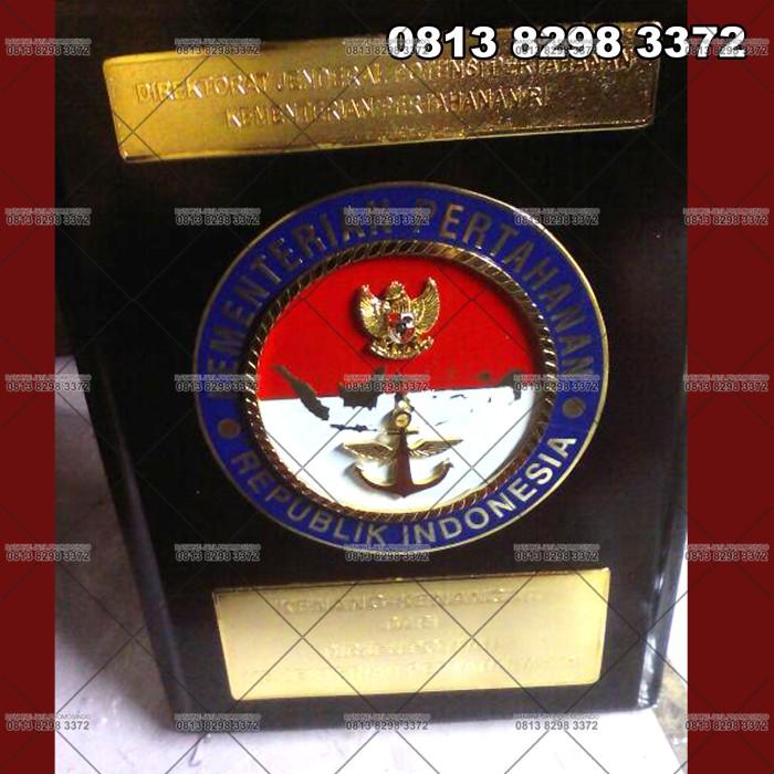 Jual Plakat Kayu Sar Kementerian Pertahanan Republik Indonesia
