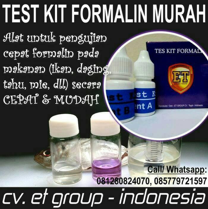 Foto Produk Test Kit Formalin Murah dari easytest